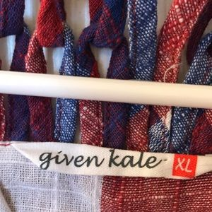 given kale Dresses - Red, White, Blue dress